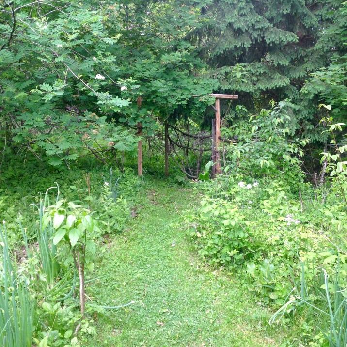 Garden Gate at Lillie House